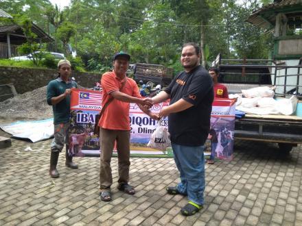 PEMBAGIAN DAGING AQIQOH DI POKOH 2 DLINGO BANTUL