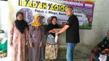 CV MARLIN BROTHERS (Indonesia) & EZ QURBAN (Malaysia) KEMBALI MENYALURKAN DAGING AQIQOH DI DLINGO