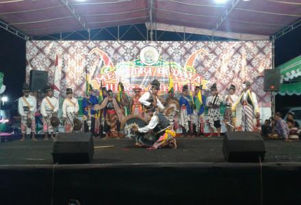 Panggung Pesta Rakyat Memetri Budaya